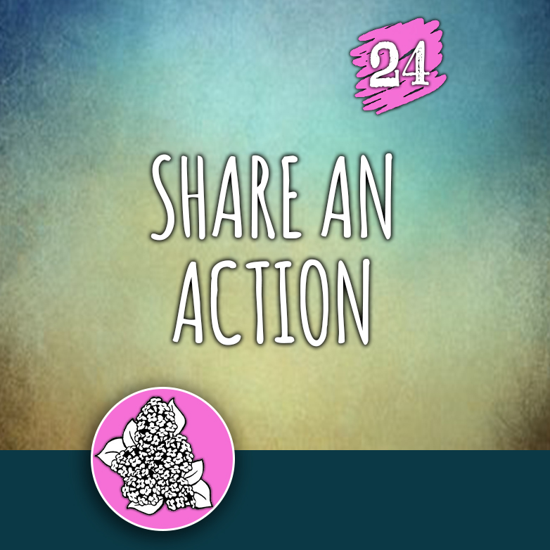ACTION 24: Share an action
