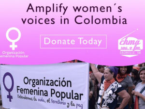 amplify women's voices in Colombia