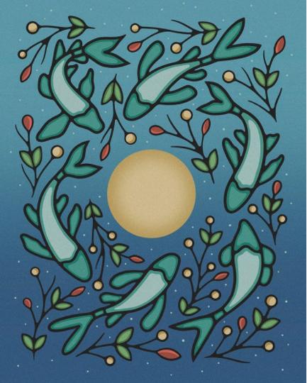 morning star designs poster