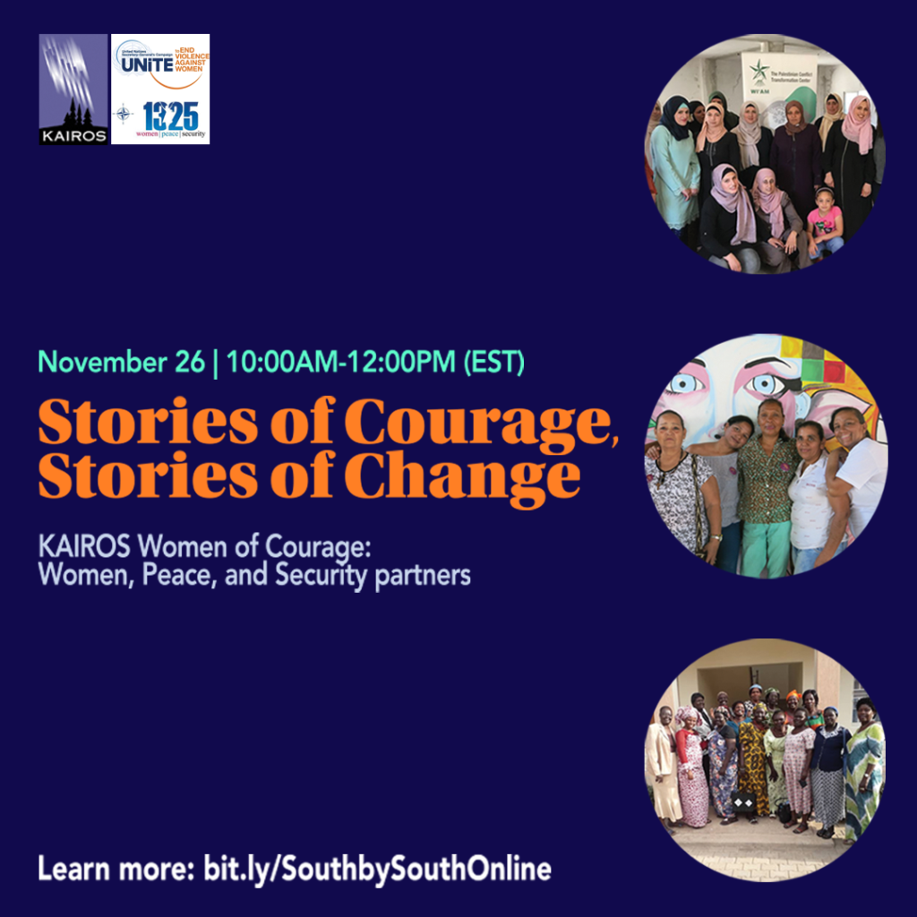 Women of Courage: Women, Peace and Security South-South Gathering virtual public event