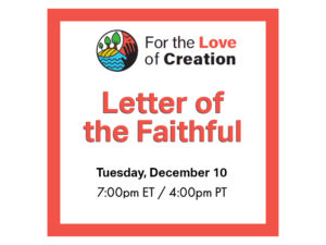 letter of the faithful event on December 10