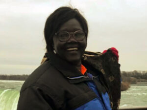 Agnes from South Sudan