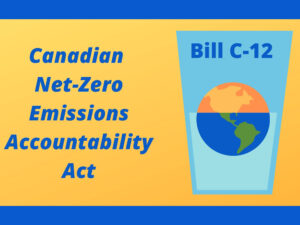 bill c12 Canadian net zero emissions accountability act