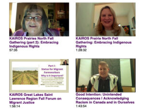regional gatherings webinars