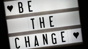 Job Opportunity - Be the Change