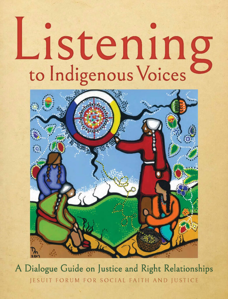 Book cover: Listening to Indigenous Voices