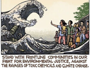 Environmental justice cartoon