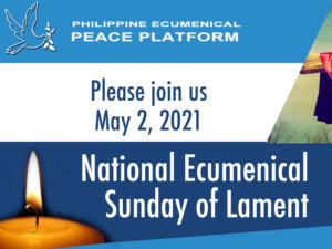 national ecumenical Sunday of lament