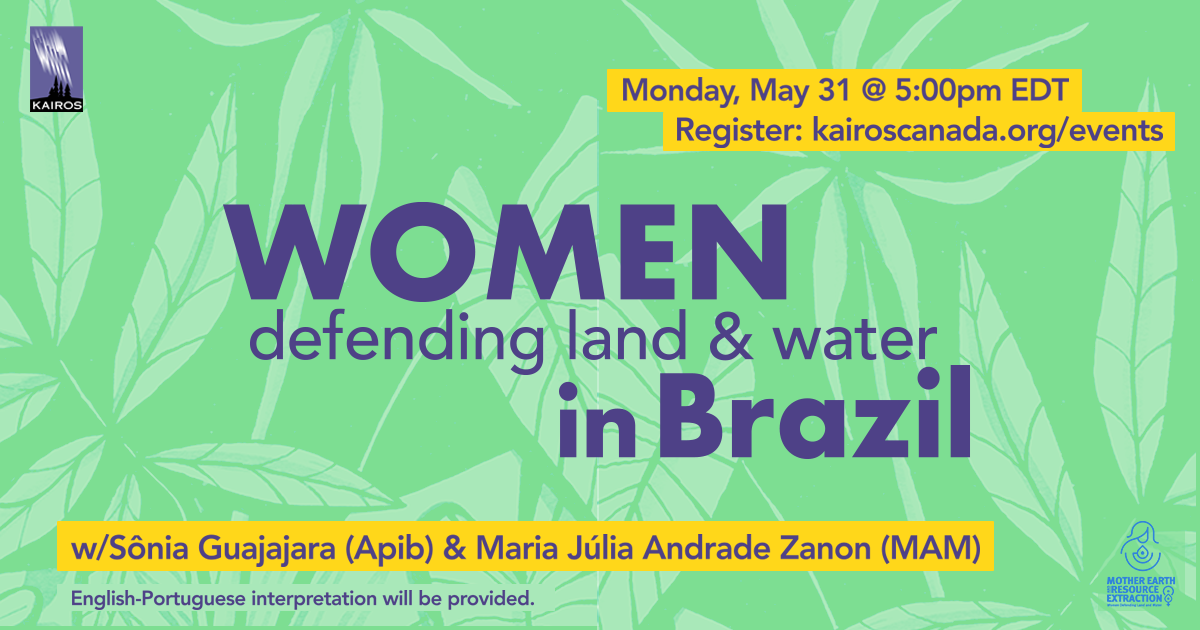 Women Defending Land and Water in Brazil