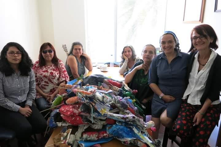 KAROS Blanket Exercise in Ecuador, on June 28, 2019 / Ejercicio de las cobijas en Ecuador, el 28 de junio de 2019.
