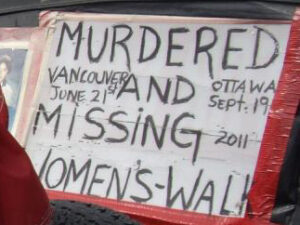 MMIWG Women's Walk for Justice - Sept 2011