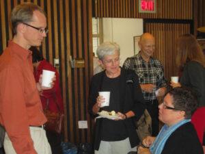 Left to right: Paul Heidebrecht, Sue Wilson, David Hallman and Julie Graham.