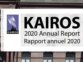 KAIROS 2020 annual report / Rapport annual 2020
