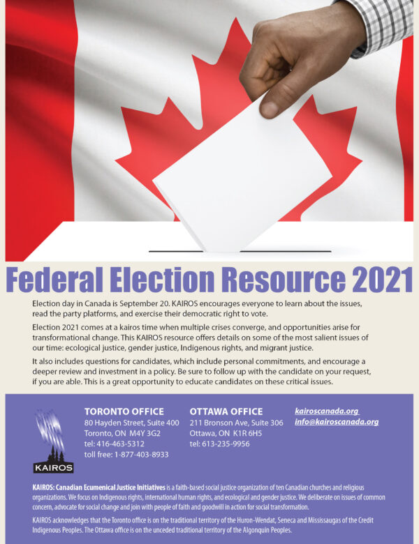 Federal Election Resource 2021