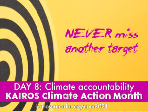 DAY 8 of Climate Action Month: climate accountability