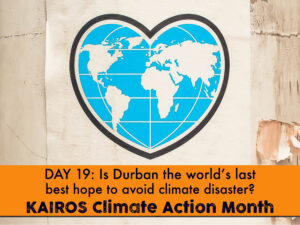 DAY 19 - Climate Action Month, briefing paper from the archives