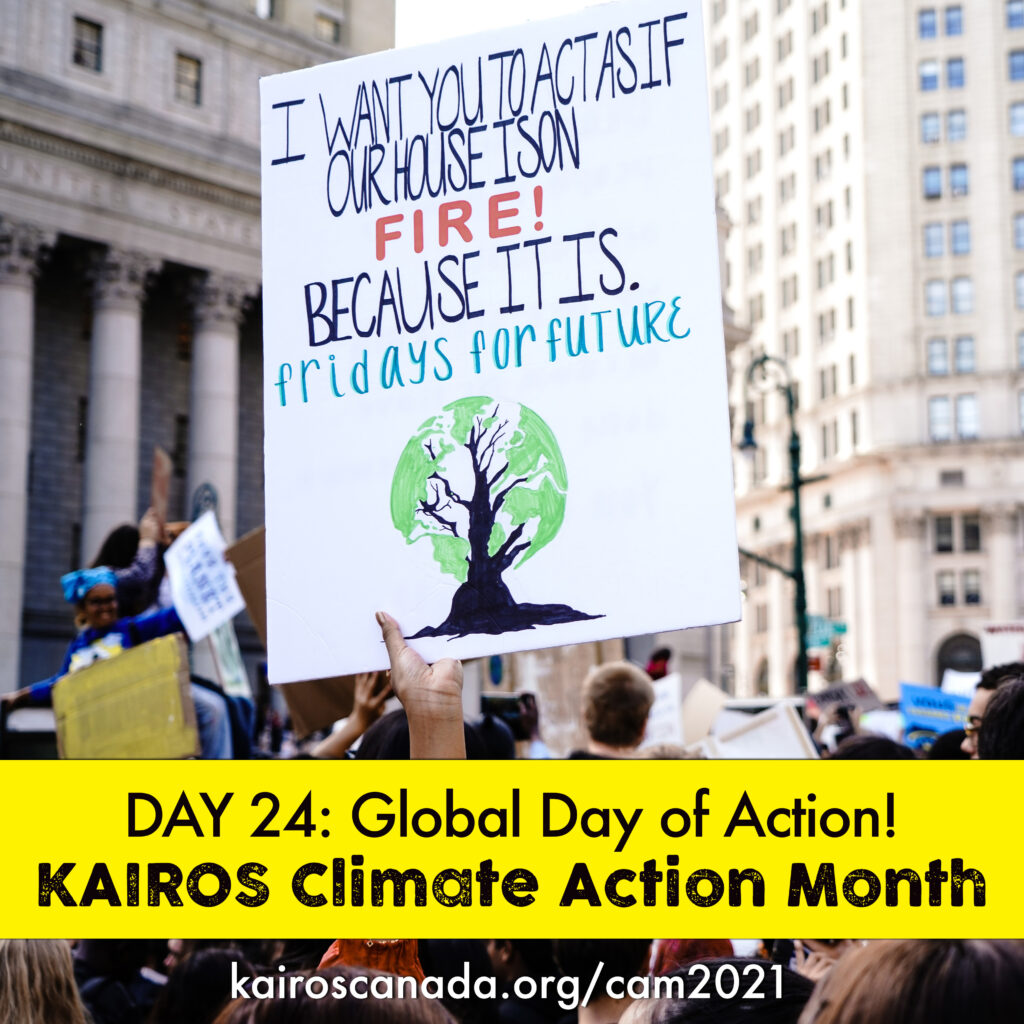 DAY 24 of Climate Action Month, Global Day of Action