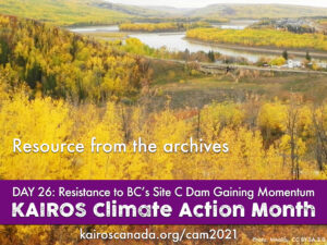 DAY 26 of climate action month, resource from the archives