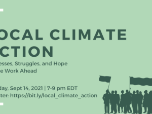 local climate action webinar