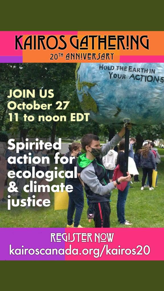 ecological justice workshop