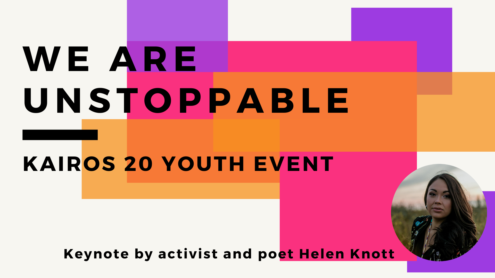 we are unstoppable youth event
