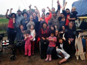 Mi'kmaq grandmothers and water protectors celebrate Alton Gas decommissioning