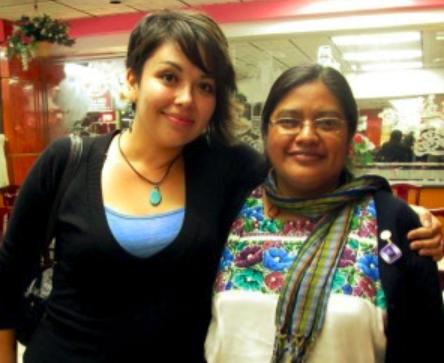 Helen Knott and Naty Atz Sunuc, Guatemala, 2013.